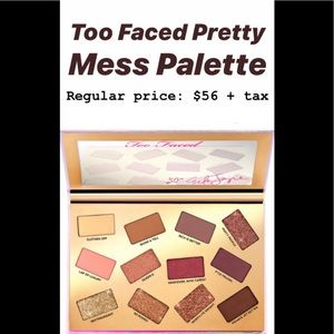 TOO FACED PRETTY MESS MAKEUP PALETTE